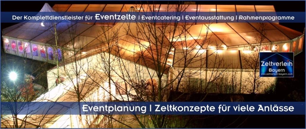 Zelte | Catering | Ausstattung | Entertainment - alles aus einer Hand für Ihre Firmenfeier in Freising